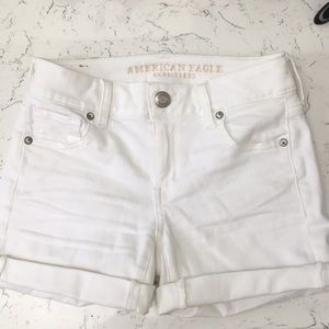 Brand New White shorts from American Eagle